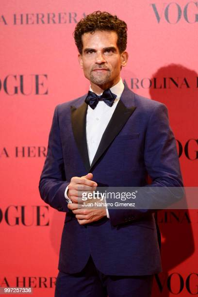 Antonio Najarro attends Vogue 30th Anniversary Party at Casa Velazquez on July 12 2018 in Madrid Spain