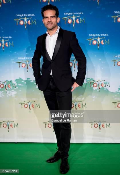 Antonio Najarro during 'Cirque Du Soleil' Premiere in Madrid on November 14 2017 in Madrid Spain