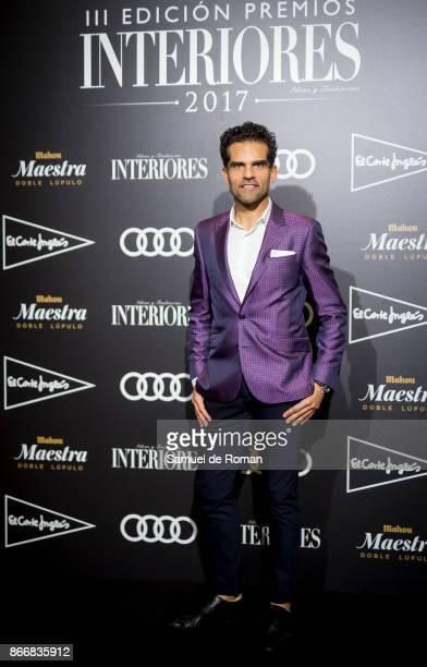 Antonio Najarro during Premios Interiores' 2017 in Madrid on October 26 2017 in Madrid Spain