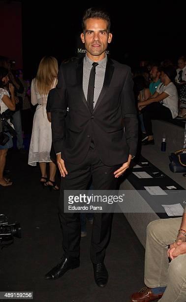 Antonio Najarro is seen attending MercedesBenz Fashion Week Madrid Spring/Summer 2015/16 at Ifema on September 19 2015 in Madrid Spain