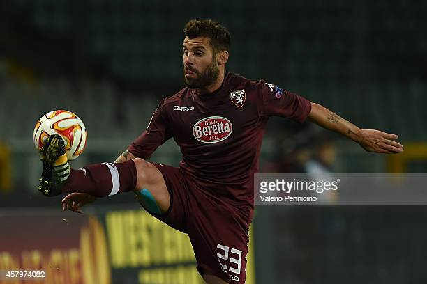 Antonio Nocerino of Torino FC controls the ball during the UEFA Europa League group B match between Torino FC and HJK Helsinki at Olimpico stadium on...