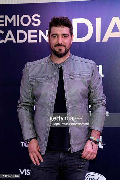 Antonio Orozco attends 'Cadena Dial' Awards presentation at Cadena Dial Studios on February 25 2016 in Madrid Spain