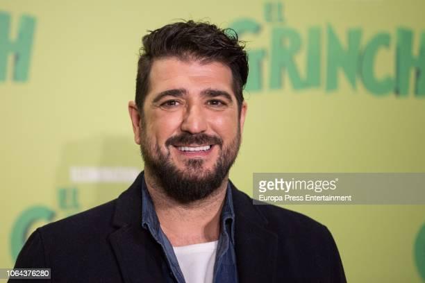 Antonio Orozco attends 'El Grinch' photocall on November 22 2018 in Madrid Spain