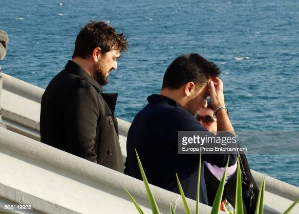 Antonio Orozco attends Susana Prat's funeral his ex girlfriend and mother of his son Jan on October 27 2017 in Sitges Spain Susana Prat died last...