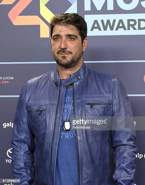 Antonio Orozco attends the 40 Principales Awards nominated dinner at Florida Retiro on October 5 2016 in Madrid Spain