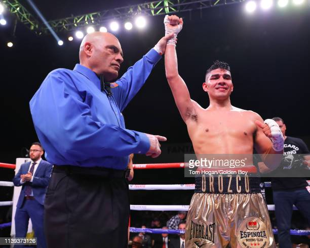 Antonio Orozco comes out victorious beating Jose Rodriguez via UD on March 30 2019 at Fantasy Springs Casino in Indio CA