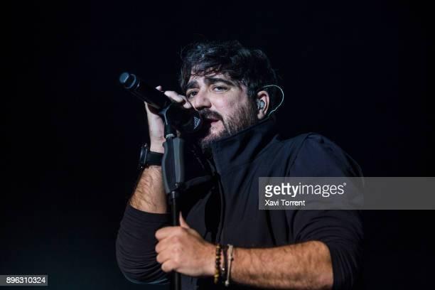 Antonio Orozco performs in concert at Sant Jordi Club on December 20 2017 in Barcelona Spain