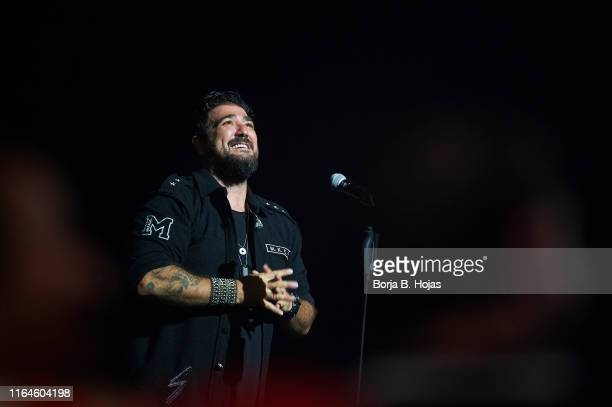 Antonio Orozco performs on stage during Universal Music Festival 2019 on July 27 2019 in Madrid Spain