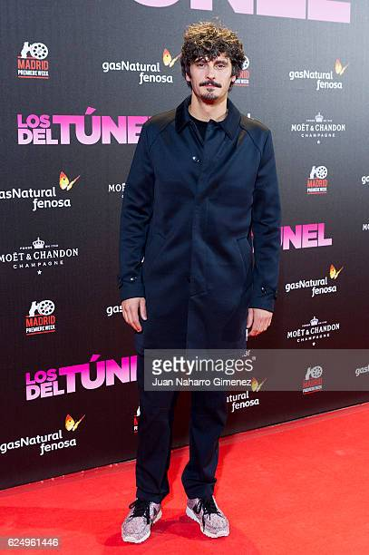 Antonio Pagudo attends 'Los Del Tunel' premiere during the Madrid Premiere Week at Callao Cinema on November 21 2016 in Madrid Spain