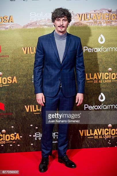Antonio Pagudo attends 'Villaviciosa De Al Lado' premiere at Capitol Cinema on December 1 2016 in Madrid Spain
