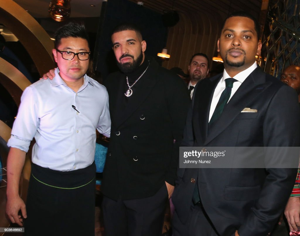 Event Name: Drake And OVO Chubbs Host Friends and Family Event Of New Restaurant, Pick 6IX, With The House Of Remy Martin