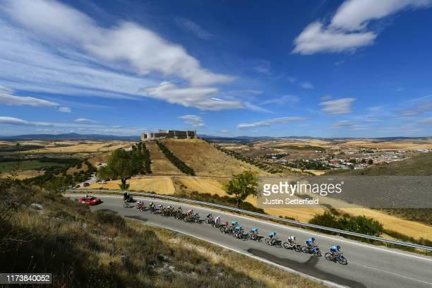 Antonio Pedrero of Spain and Movistar Team / Marc Soler of Spain and Movistar Team / Alejandro Valverde Belmonte of Spain and Movistar Team / Primoz...