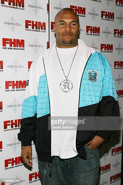 Antonio Pierce during FHM Party for the NFL Players Draft at Gypsy Tea in New York, NY, United States.