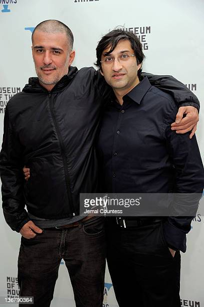 Antonio Pinto and Asif Kapadia attends the 5th Annual Cinema Eye Honors for Nonfiction Filmmaking at the Museum of the Moving Image on January 11...