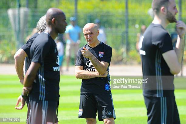 Antonio PINTUS during First Session Training of Olympique Lyonnais at Centre Tola Vologe on June 24 2016 in Lyon France