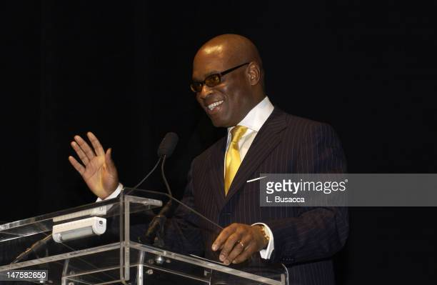Antonio 'LA' Reid during Arista Records CoSponsors Benefit for PENCIL featuring Avril Lavigne and Blu Cantrell at Hammerstein Ballroom in New York...