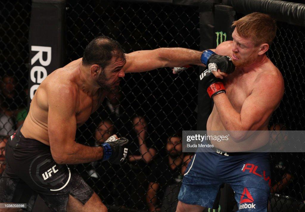UFC Fight Night: Alvey v Nogueira : News Photo