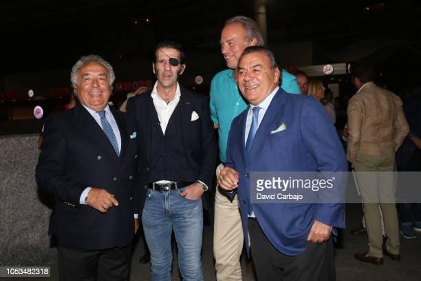 Antonio Romero Jose Padilla Bertin Orborne y Rafael Ruiz attends the premiere of the film Bernarda on October 25 2018 in Seville Spain