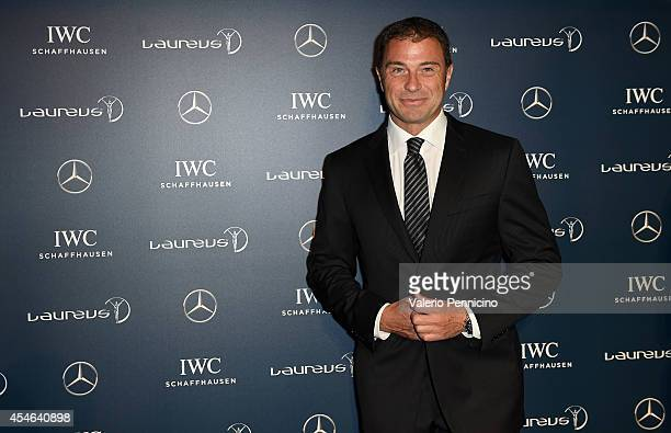 Antonio Rossi attends during the Laureus Charity F1 Night at the MercedesBenz Spa on September 4 2014 in Milan Italy