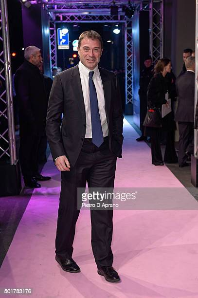 Antonio Rossi attends the 'Gazzetta Awards' on December 17 2015 in Milan Italy