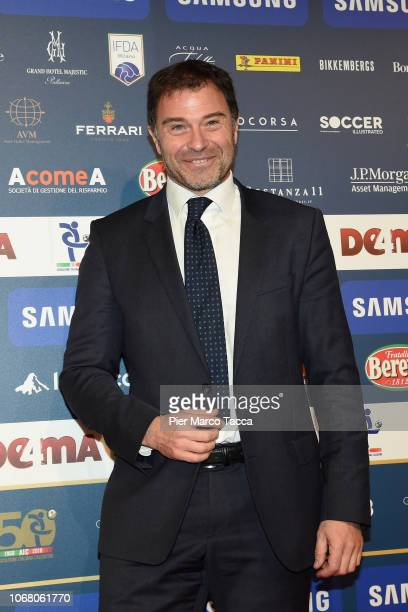 Antonio Rossi attends the 'Oscar Del Calcio AIC' Italian Football Awards on December 3 2018 in Milan Italy