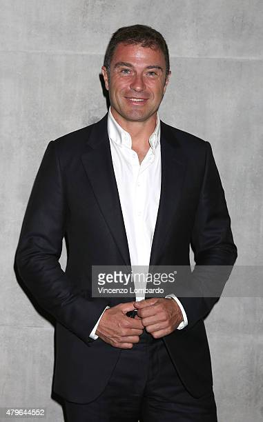 Antonio Rossi attends the presentation the Rio 2016 Olympic uniform designed by Giorgio Armani on July 1 2015 in Milan Italy