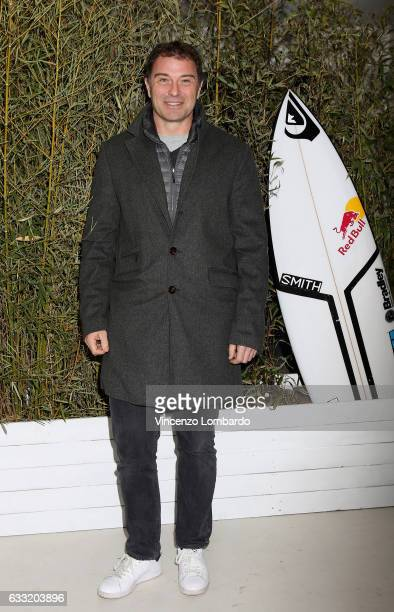 Antonio Rossi attends the 'Ride To The Roots' presentation on January 31 2017 in Milan Italy