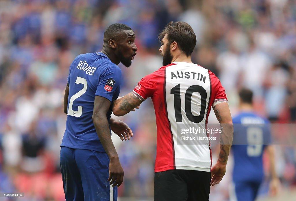 Chelsea v Southampton - The Emirates FA Cup Semi Final : News Photo