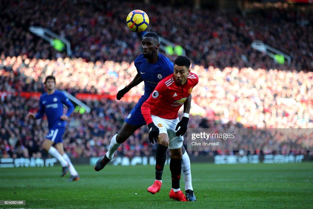 Manchester United v Chelsea - Premier League : Nachrichtenfoto
