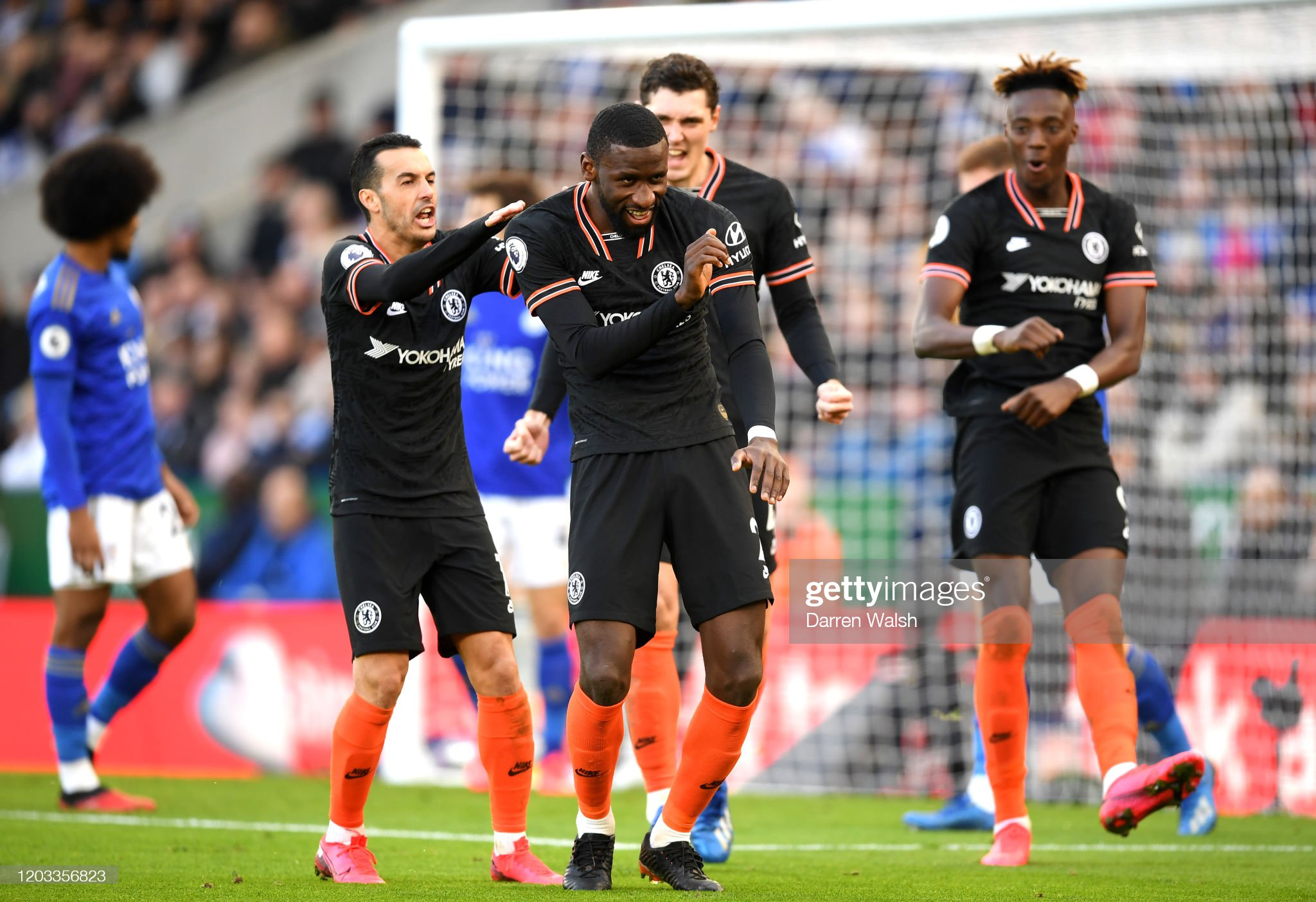 Leicester City v Chelsea FC - Premier League : News Photo