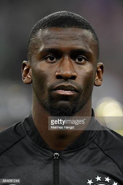 Antonio Ruediger of Germany poses prior to the International Friendly match between Germany and Italy at Allianz Arena on March 29 2016 in Munich...
