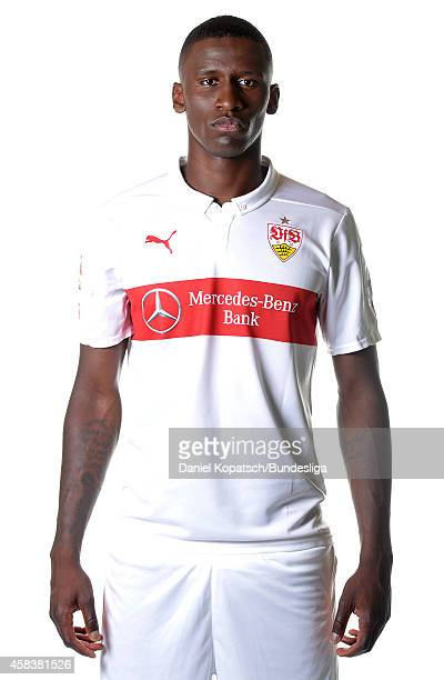 Antonio Ruediger poses during the VfB Stuttgart Media Day on July 24 2014 in Stuttgart Germany