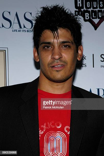 Antonio Rufino attends Calabasas Magazine Celebrates Its First Annual Music Issue at House of Blues on August 23 2005 in Hollywood CA