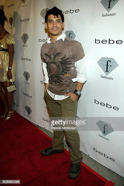 Antonio Rufino attends Fashion TV's Tenth Anniversary Celebration with Amber Valletta and Bebe at Social on May 2 2007 in Hollywood CA