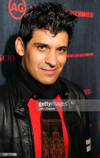 Antonio Rufino during AG Jeans 1st Anniversary Party Red Carpet at AG On Robertson in Los Angeles California United States