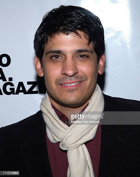 Antonio Rufino during Third Annual Winter N' LA Holiday Bash at Camden House in Beverly Hills California United States
