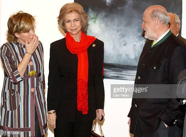 Antonio Ruiz Gallardon Queen Sofia and Pilar del Castillo
