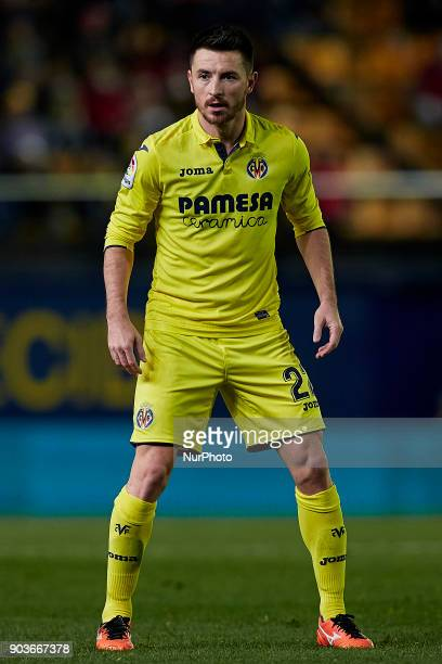 Antonio Rukavina of Villarreal CF looks on during the Copa del Rey Round of 16 second leg game between Villarreal CF and CD Leganes on January 10...