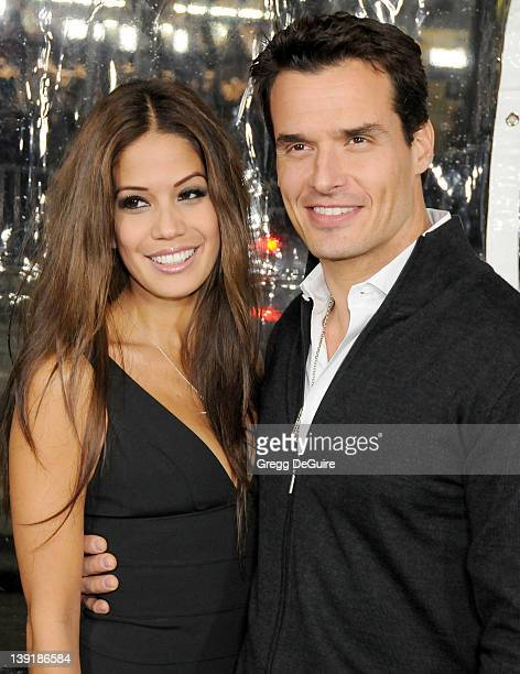 Antonio Sabato Jr and Cheryl Moana Marie arrive at the Edge Of Darkness Los Angeles Premiere held at the Grauman's Chinese Theatre on January 26 2010...