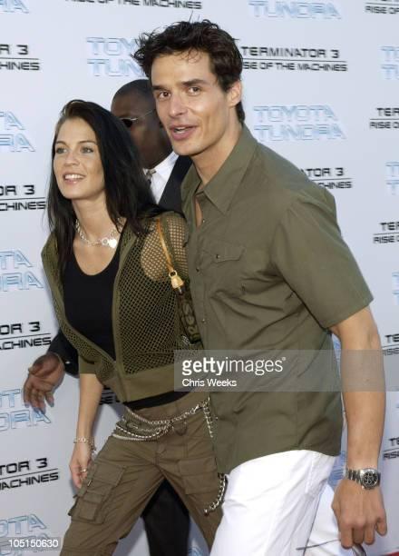 Antonio Sabato Jr and girlfriend Kristin Rosetti