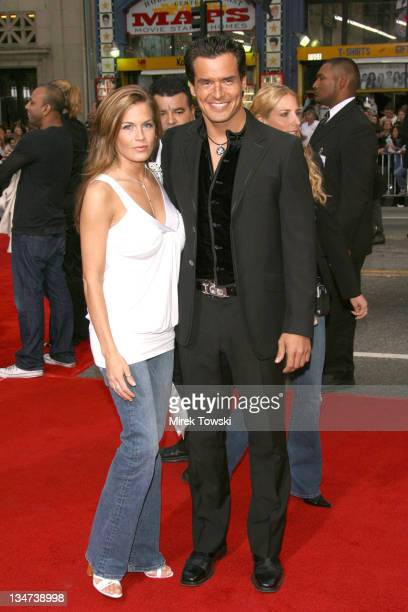 Antonio Sabato Jr and guest during Tom Cruise Fan Club Screening of 'Mission Impossible III' in Los Angeles Arrivals at Grauman's Chinese Theater in...