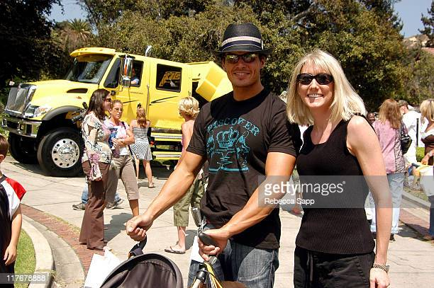 Antonio Sabato Jr and Heather Kos during International Truck at the Silver Spoon Hollywood Buffet Day Two at Private Residence in Los Angeles...