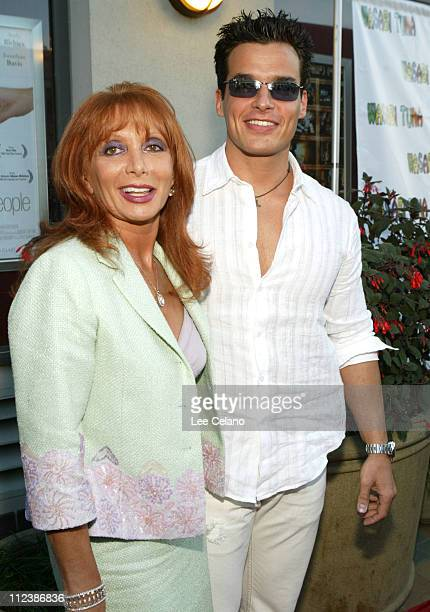 Antonio Sabato Jr and his mother Yvonne during 'Wasabi Tuna' Premiere Red Carpet and Inside at Laemmle Sunset Five Theater in Los Angeles California...