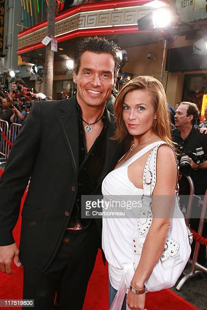 Antonio Sabato Jr and Kristin Rossetti during Los Angeles Fan Screening of Paramount Pictures' Mission Impossible III at Grauman's Chinese Theatre in...