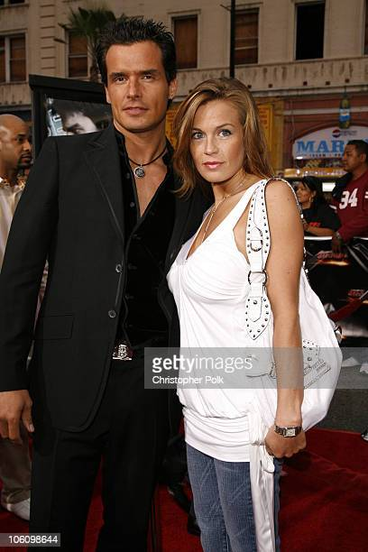 Antonio Sabato Jr and Kristin Rossetti during Mission Impossible III Los Angeles Fan Screening Arrivals at Chinese Theater in Hollywood California...