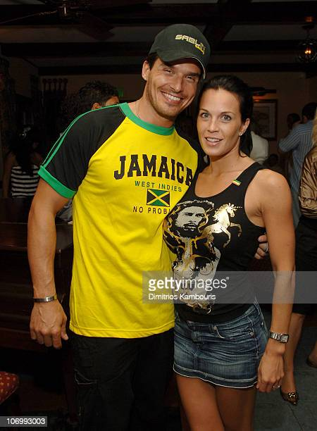 Antonio Sabato Jr and Kristin Rossetti during The 3rd Annual Royal Plantation Access Hollywood Celebrity Golf Classic Day 2 After Party in Ocho Rios...