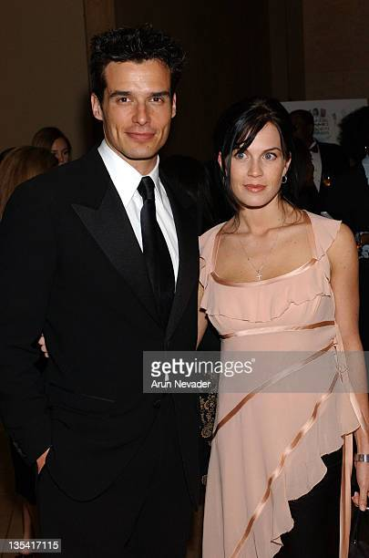 Antonio Sabato Jr and Kristin Rossetti during The 9th Annual NAMIC Vision Awards at Beverly Hilton Hotel in Beverly Hills California United States