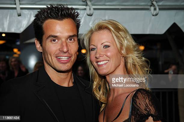 Antonio Sabato Jr and Sandra Lee during 32nd Annual Daytime Emmy Awards Arrivals at Radio City Music Hall in New York City New York United States