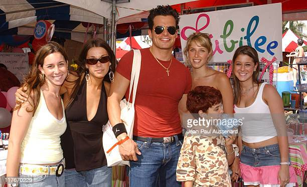 Antonio Sabato Jr and son at Jubilee Designs during Silver Spoon Hollywood Buffet Day One at Private Estate in Hollywood California United States...