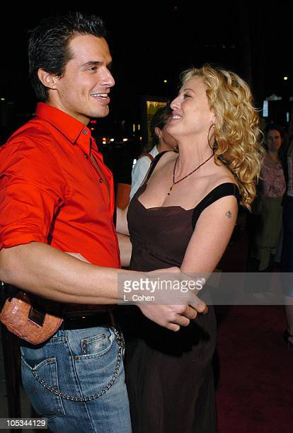 Antonio Sabato Jr and Virginia Madsen during 'Sideways' Los Angeles Premiere Red Carpet at Academy of Motion Pictures Arts and Sciences in Beverly...